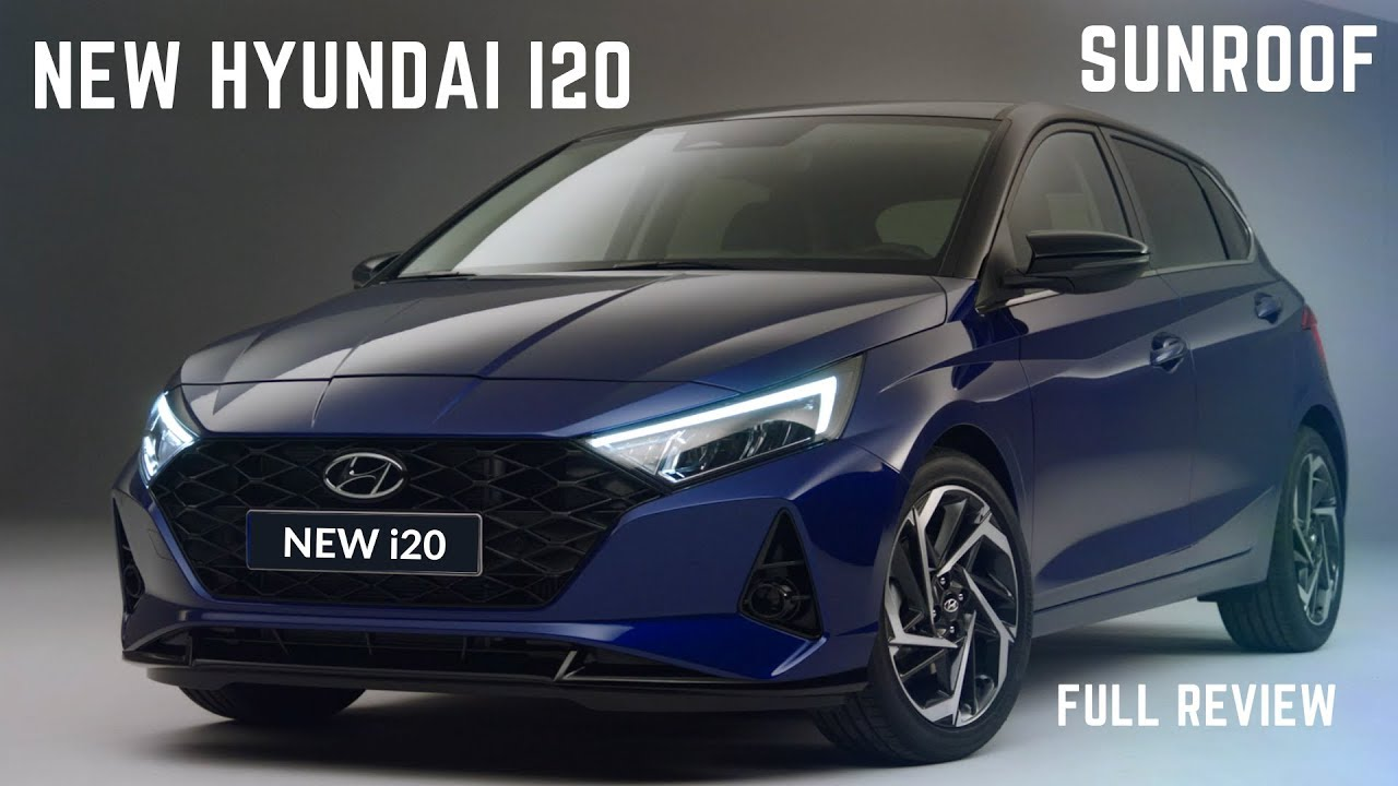 New Hyundai I20 2020 Sunroof Latest Features New Interiors Price Detailed Review Hyundai I20 Youtube