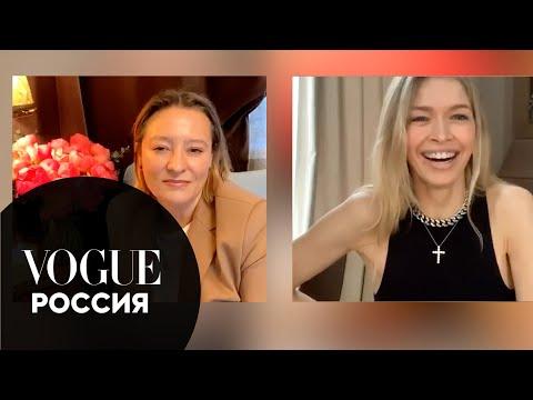 Вера Брежнева о секретах ухода, мотивации и воспитании дочерей | Vogue Россия