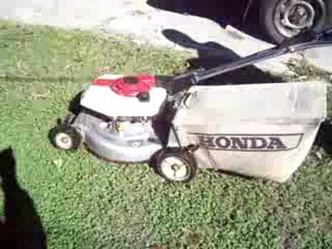 Honda Hr17 Prototype Lawnmower Youtube