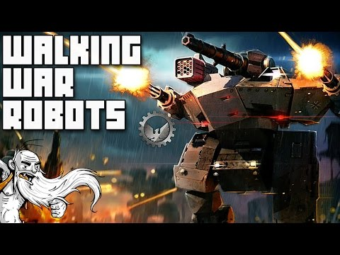 """I'M A GIANT DEATH MACHINE!!!"" Walking War Robots IOS / Android gameplay walkthrough"