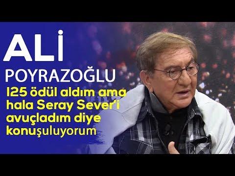 Ali Poyrazoğlu: 125 tane ödül aldım ama Seray Sever'i avuçladım diye konuşuluyorum