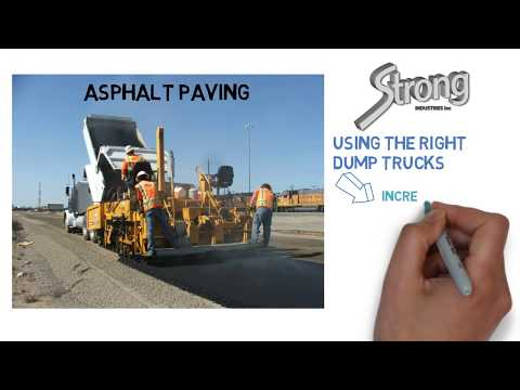 Most Productive Dump Trucks for Hauling Asphalt / Paving Jobs