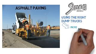 How to Sell Dump Truck Hauling to Asphalt Paving Companies