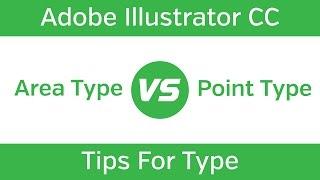 Adobe Illustrator CC Tutorial - Text Types
