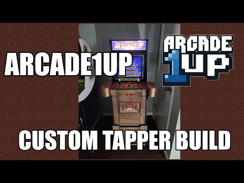 Converting an Arcade1Up Final Fight into a Tapper cab from TechnoBilly