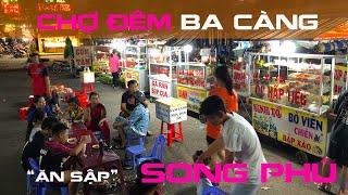 Ăn sập  Chợ đêm Ba Càng khu đô thị Song Phú, Tam Bình, Vĩnh Long | ZaiTri