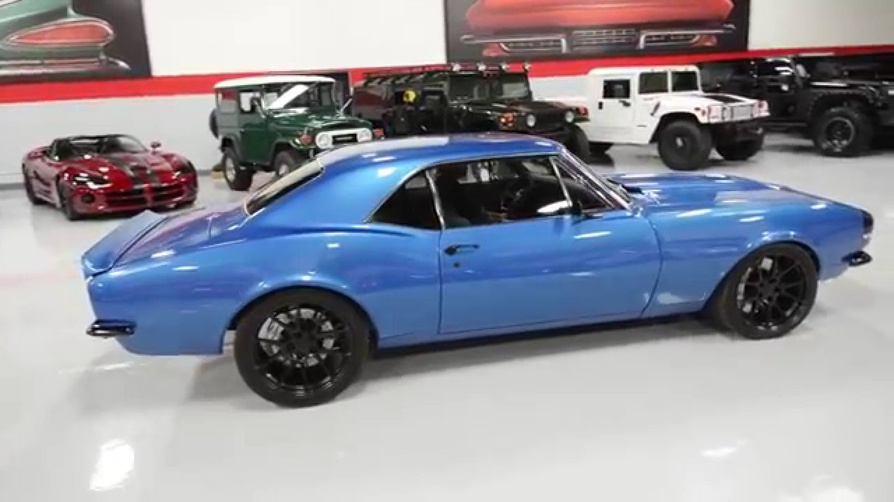 1967 Chevrolet Camaro With Ls3 Engine Youtube