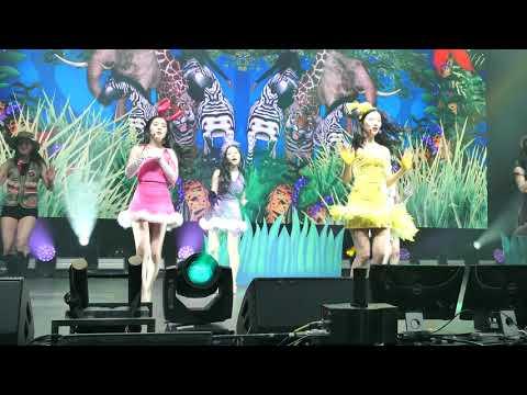 2019.02.07 Redmare Concert in LA - Red Velvet - Zoo (Fancam)