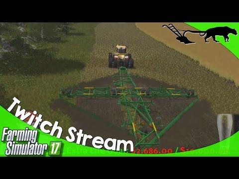 Twitch Stream: Farming Simulator 17 PC Open Server 04/14/2017 P2