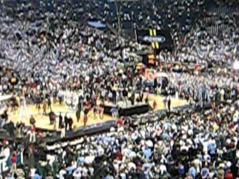 UNC Fight Song after winning 2009 NCAA Men