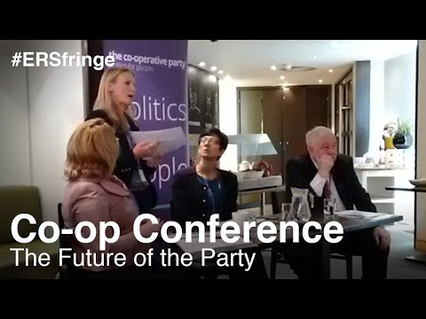 The Future of the Party: Funding, members, structure (Co-op Fringe)