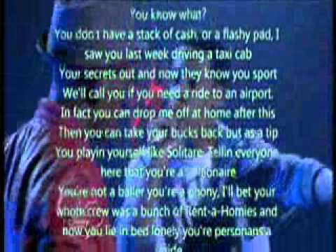 Moment of truth rap battle - let it shine with lyrics ...