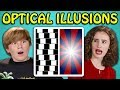 10 Mind Blowing Optical Illusions with T