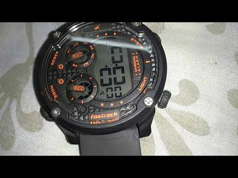 How To Set Time On Fastrack 38045PP03 Trendies Watch .