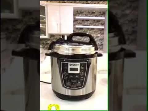 قدر ضغط كهربائي 12 دقيقه والطبخه جاهزه Youtube