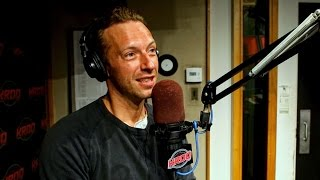 Coldplay's Chris Martin on The Kevin & Bean Show