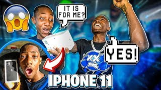 SURPRISED JAY WITH A IPHONE 11 & MADE A SONG FOR HIM & EMILY!