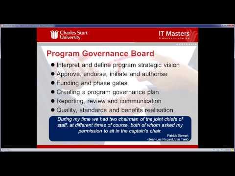 Lecture 4: Free Short Course - Program Management Professional