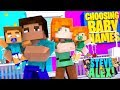 Minecraft LIFE of ALEX & STEVE - PICKING NAMES FOR OUR BABY TWINS!!