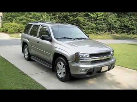 Test Drive The 2003 Chevrolet Trailblazer LT - YouTube