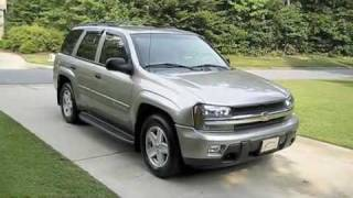 Test Drive The 2003 Chevrolet Trailblazer LT