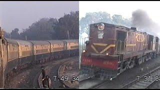 Ajmer Shatabdi Trip - Part 1: New Delhi till Digawara (Dec 13, 2000)