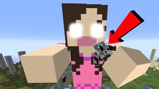 MEGA EVIL JEN TAKES OVER MINECRAFT!!!