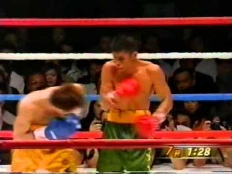 chris john vs osamu sato round 7 WBA featherweight title bout