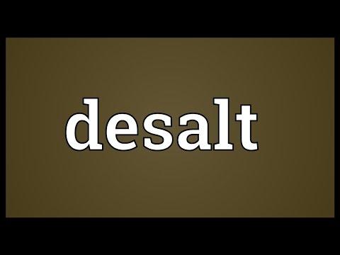 Header of desalt
