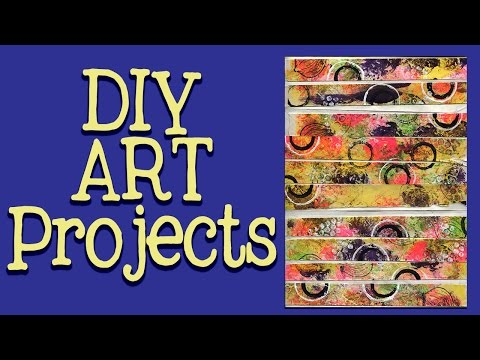 DIY Washi Tape Using Drywall Paper Tape  -  Part 1