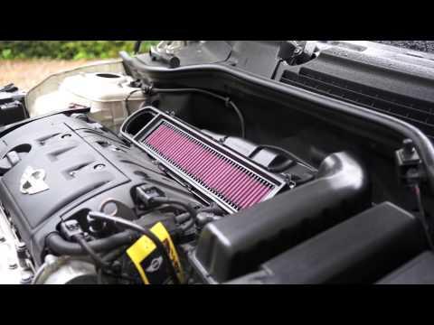 Mini Cooper R56 Air Intake Filter Exchange  K&N Racing Filter