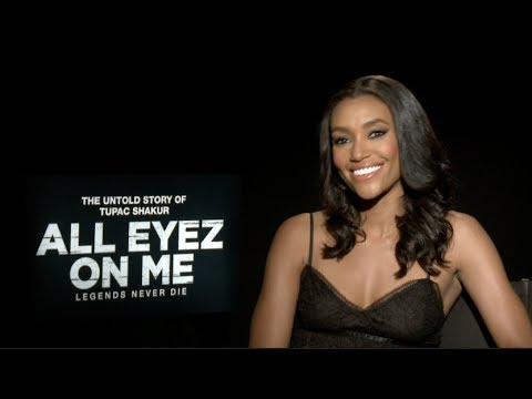 Annie Ilonzeh of All Eyez On Me on Playing Kidada Jones & Tupac's Legacy