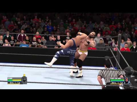 Honky Tonk Man real life shoot fight with Cesaro WWE 2K16
