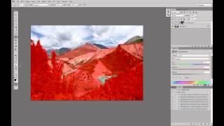 Обработка пейзажа. Часть 3. Повышение цветности