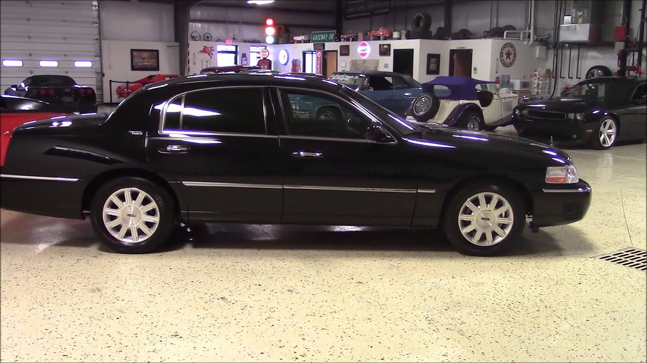 2011 Lincoln Town Car Signature Youtube
