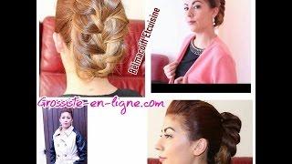 Tuto coiffure: Coiffure de soirée / Chignon Chic! en collaboration avec Grossiste en ligne+ CONCOURS