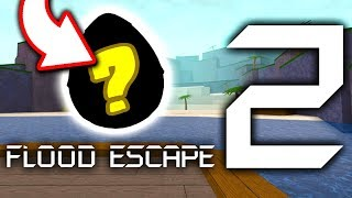 There's a SECRET EGG inside Flood Escape 2.... (Roblox Egg Hunt 2019?)