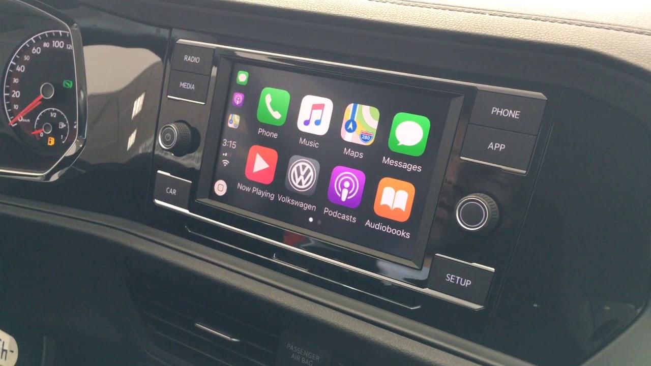 jetta comfortline infotainment system  apple carplayandroid auto youtube