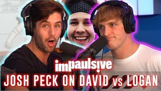 JOSH PECK REVEALS WHY DAVID DOBRIK HATES LOGAN PAUL - IMPAULSIVE EP. 11