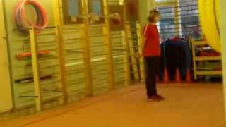 урок физкультуры в детском саду №2553 г. Москвы
