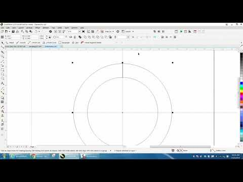 Corel Draw Tips & Tricks How to Rotate round a circle with the Transformation Docker Part 2