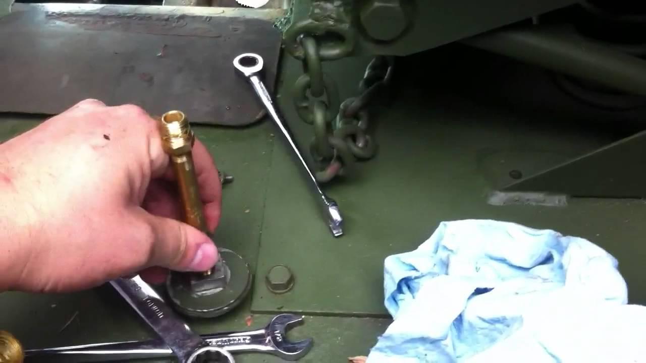 M35a2 brake system