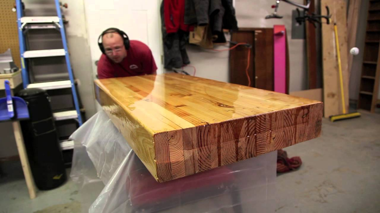 Epoxy Coffee Table 2014 Funnydog Tv