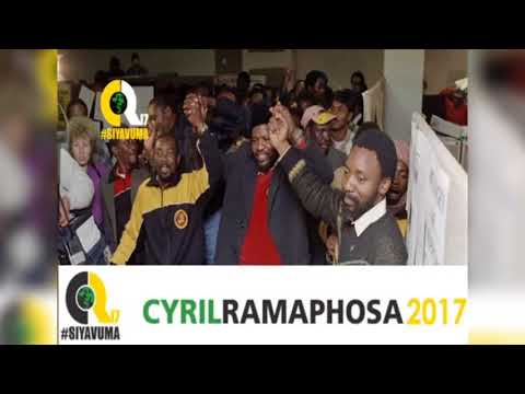 CYRIL RAMAPHOSA~WE LOVE YOUCR17 3rd VIDEO