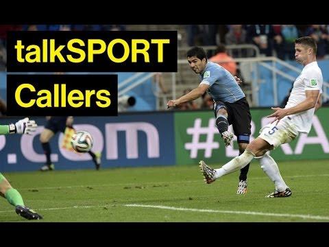 Amazing (Off-Air) England v Uruguay Commentary