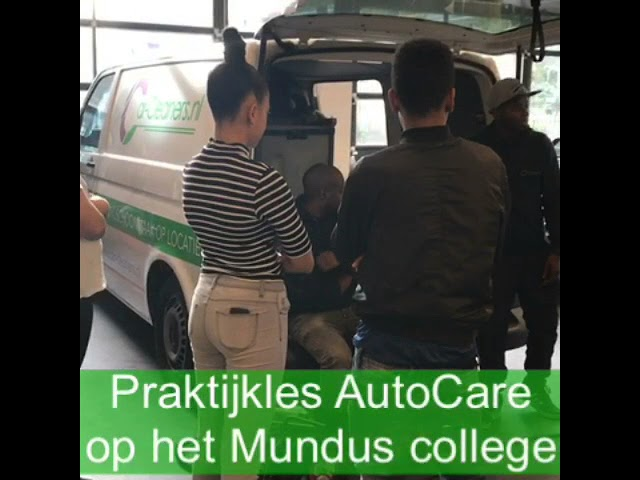 Praktijkles in Auto care