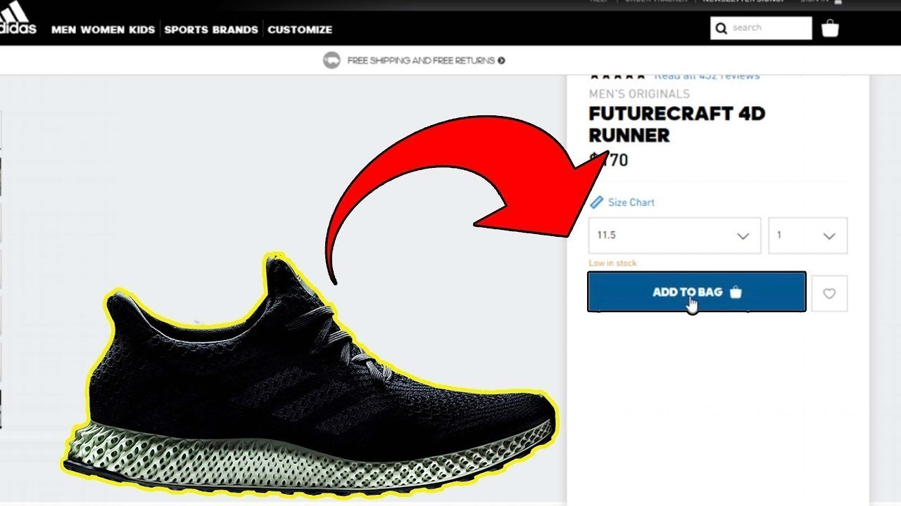 half off 09166 78389 How To Get The Adidas FUTURECRAFT 4D LIMITED (Where to Buy the FUTURECRAFT  4D)