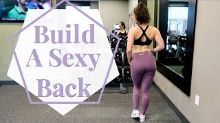 DUMBBELL ONLY UPPER BODY WORKOUT // For A Sexy, Defined Back
