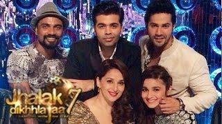 Alia bhatt & varun dhawan on jhalak dikhla jaa 7 7th june 2014 episode 1