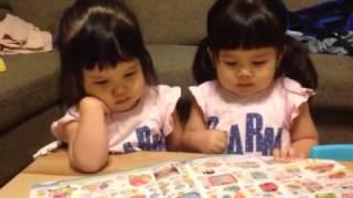 2歳5ヶ月の双子姉妹です。 カタログでもおもちゃの取り合いになります。...
